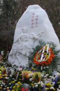 落成于贵州毕节石牛石马山的三槐王氏懋公纪念碑